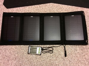 Anker Solar Panel, Custom USB Cable, Goal Zero Guide 10 Charger