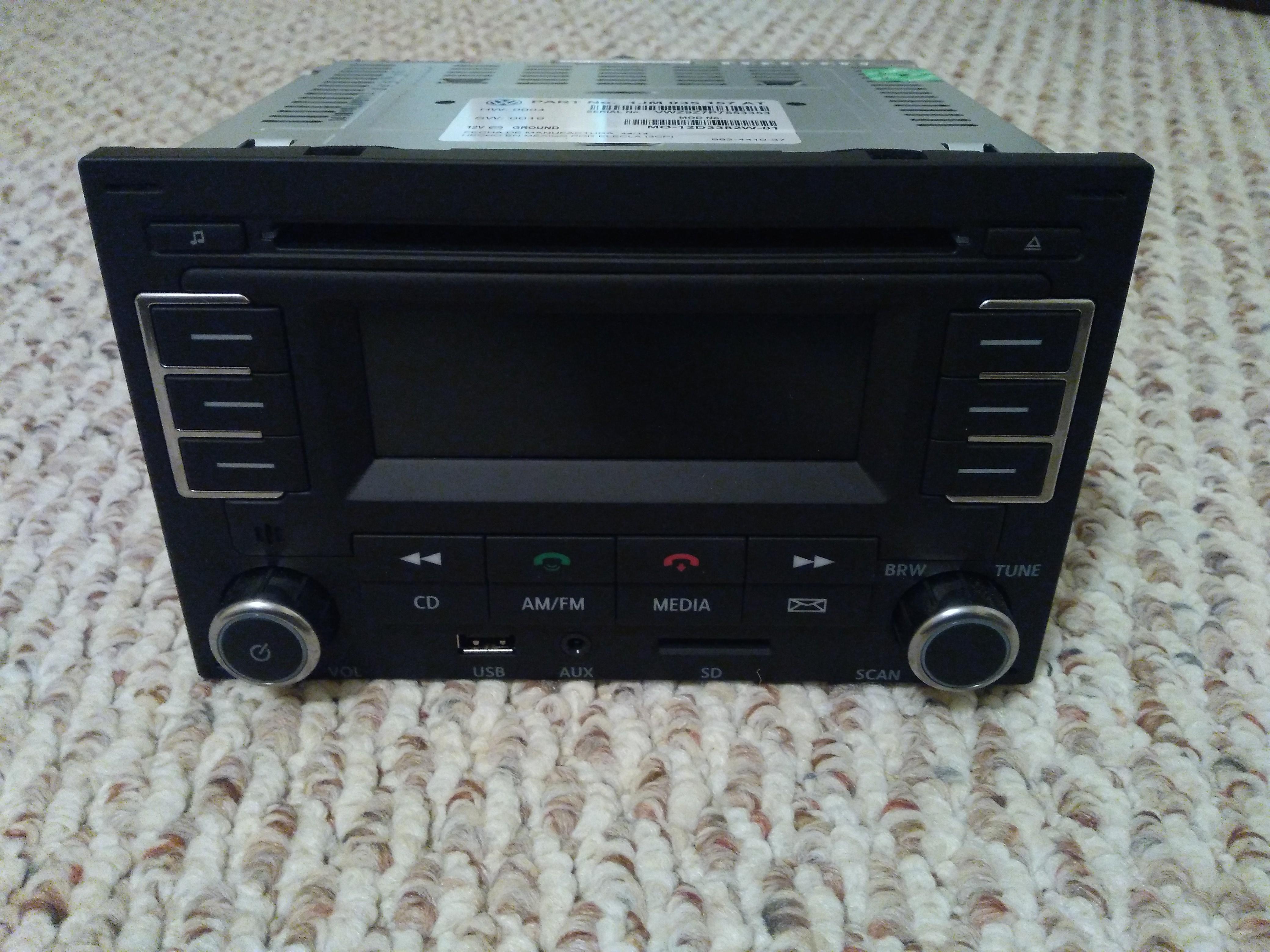 vwvortex com vw rmt 100 mp3 bluetooth radio for mark iv cars rh forums vwvortex com 1991 Volkswagen Passat Repair Manual Volkswagen Car Manuals